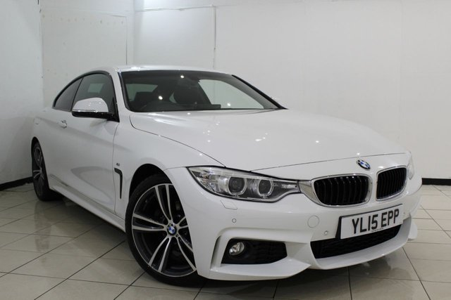 View our 2015 15 BMW 4 SERIES 2.0 420D M SPORT 2DR 188 BHP