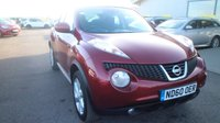 USED 2011 60 NISSAN JUKE 1.6 ACENTA 5d 117 BHP LOW DEPOSIT OR NO DEPOSIT FINANCE AVAILABLE.