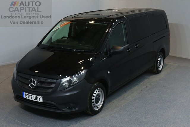 2017 17 MERCEDES-BENZ VITO 2.1 114 BLUETEC TOURER PRO 5d 136 BHP AUTO GEARBOX AIR CONDITION EURO 6 ENGINE ONE OWNER FROM NEW