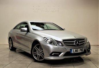 2011 MERCEDES-BENZ E CLASS 3.0 E350 CDI BLUEEFFICIENCY SPORT 2d AUTO 231 BHP £11985.00