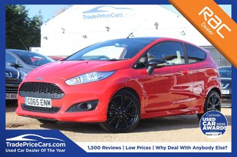 2016 FORD FIESTA 1.0 ZETEC S RED EDITION 3d 139 BHP £10250.00