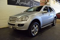 USED 2008 57 MERCEDES-BENZ M CLASS 3.0 ML280 CDI SPORT 5d AUTO 188 BHP LOVELY CAR INSIDE AND OUT - 4 SERVICES TO 82K