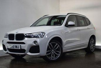 2015 BMW X3 2.0 XDRIVE20D M SPORT 5d AUTO 188 BHP £20490.00