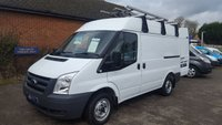 2011 FORD TRANSIT 260 SWB MEDIUM ROOF WITH ONLY 34,000 MILES £6795.00