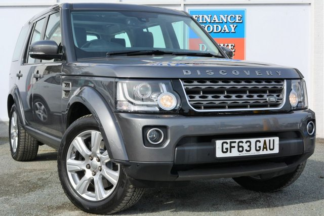 2014 63 LAND ROVER DISCOVERY 3.0 SDV6 5d AUTO with Leather Interior and Sat Nav