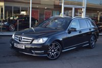 USED 2012 12 MERCEDES-BENZ C CLASS 2.1 C220 CDI BLUEEFFICIENCY AMG SPORT PLUS 5d AUTO 168 BHP