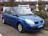 2004 RENAULT SCENIC 1.6 AUTHENTIQUE RUSH VVT 5d 116 BHP £1190.00
