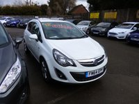 USED 2015 64 VAUXHALL CORSA 1.2 SXI ECOFLEX THIS VEHICLE IS AT SITE 1 - TO VIEW CALL US ON 01903 892224