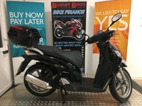 2006 HONDA SH125 125cc SH 125-6  £1599.00