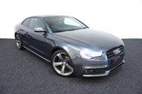 2014 AUDI A5 2.0 TDI S LINE BLACK EDITION 2d AUTO 177 BHP £16991.00