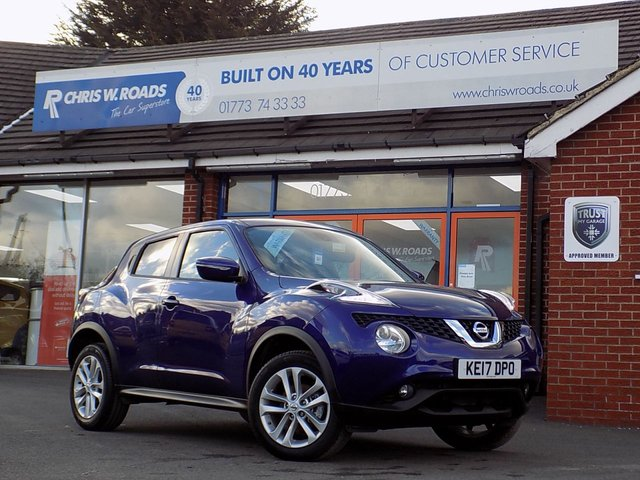 USED 2017 17 NISSAN JUKE 1.2 DIG-T N-CONNECTA 5dr * Sat Nav & Rear Camera * *ONLY 9.9% APR*