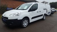 2013 PEUGEOT PARTNER 850 L1 PROFESSIONAL WITH AIR-CON & 3 SEATS £5695.00