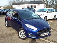 USED 2015 64 FORD FIESTA 1.2 ZETEC 5d 81 BHP ONE Owner FULL Service History