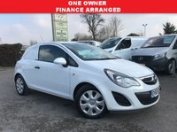 USED 2013 63 VAUXHALL CORSA 1.2 CDTI ECOFLEX S/S 1d 93 BHP One Owner, Low Mileage, Smart Example.