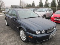 USED 2008 08 JAGUAR X-TYPE 2.2 S 4DR FSH SERVICE HISTORY LUXURY AND ECONOMY