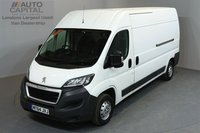 USED 2014 64 PEUGEOT BOXER 2.2 HDI 335 L3H2 PROFESSIONAL P/V 5d 130 BHP AIR CONDITION NAVIGATION ONE OWNER FROM NEW