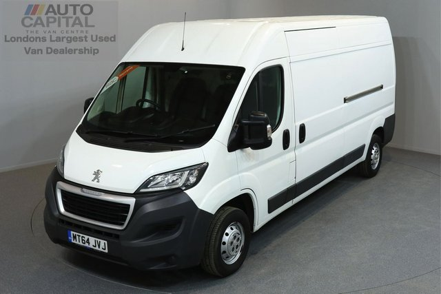 2014 64 PEUGEOT BOXER 2.2 HDI 335 L3H2 PROFESSIONAL P/V 5d 130 BHP AIR CONDITION NAVIGATION ONE OWNER FROM NEW