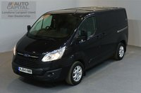 USED 2014 64 FORD TRANSIT CUSTOM 2.2 290 LIMITED LR P/V 5d 124 BHP AIR CONDITION CRUISE CONTROL NAVIGATION ALLOY WHEEL ONE OWNER FROM NEW