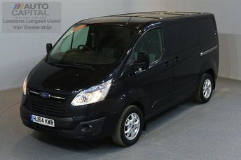 2014 FORD TRANSIT CUSTOM 2.2 290 LIMITED LR P/V 5d 124 BHP AIR CONDITION CRUISE CONTROL NAVIGATION ALLOY WHEEL £8990.00