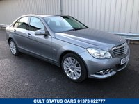 2012 MERCEDES-BENZ C CLASS 2.1 C220 CDI BLUEEFFICIENCY ELEGANCE 4d AUTO 168 BHP £10995.00