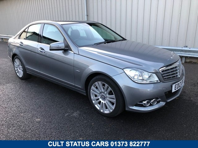 2012 12 MERCEDES-BENZ C CLASS 2.1 C220 CDI BLUEEFFICIENCY ELEGANCE 4d AUTO 168 BHP