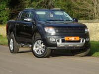 2015 FORD RANGER 3.2 TDCi Wildtrak Double Cab Pickup 4x4 4dr £20500.00