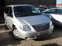 2006 CHRYSLER GRAND VOYAGER 2.8 LIMITED 5d AUTO 150 BHP £2280.00