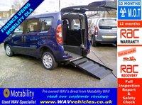 2012 FIAT DOBLO 1.6 MULTIJET MYLIFE DUALOGIC 5d AUTO 90 BHP WHEELCHAIR ACCESSIBLE £7995.00