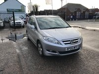 USED 2005 05 HONDA FR-V 2.2 I-CTDI SPORT 5d 139 BHP JUST ARRIVED 6 Seater-Full Service History-Diesel-Climate Control