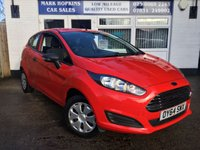 USED 2014 64 FORD FIESTA 1.2 STUDIO 3d 59 BHP 12K FSH ONE OWNER LOW INSURANCE £30/TAX EXCELLENT CONDITION