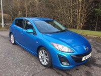 USED 2012 12 MAZDA 3 2.2 D SPORT 5d 150 BHP 6 MONTHS PARTS+ LABOUR WARRANTY+AA COVER