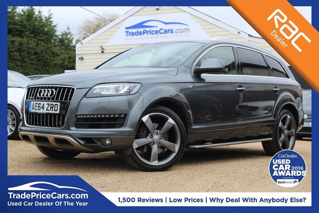 Used Audi Cars In Wickford From Trade Price Cars - Audi family car 7 seater