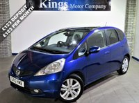 2010 HONDA JAZZ 1.3 I-VTEC EX I-SHIFT 5d 98 BHP £5680.00