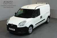 USED 2013 13 FIAT DOBLO 1.6 16V MAXI MULTIJET COMBI 6d 105 BHP LWB REAR PARKING SENSORS REVERSE CAMERA 5 SEAT COMBI VAN ONE OWNER FROM NEW