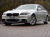2011 BMW 5 SERIES 2.0 520D SE 4d 181 BHP £7944.00