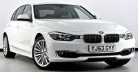 USED 2013 63 BMW 3 SERIES 2.0 320d Luxury (s/s) 4dr Sat Nav, Heated Leather, DAB