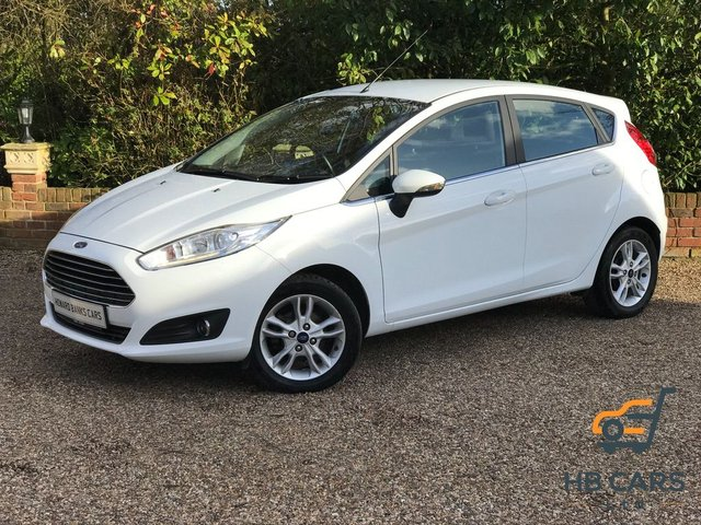 2015 65 FORD FIESTA 1.0 100 EcoBoost s/s Zetec 5dr