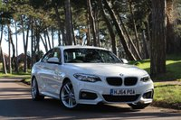 2014 BMW 2 SERIES 218D M SPORT COUPE 141 BHP £SOLD