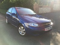 2008 CHEVROLET LACETTI 1.6 SX 5d AUTO 108 BHP PLEASE CALL TO VIEW PX TO CLEAR £1750.00