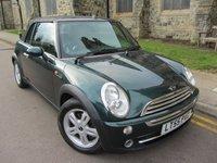 2005 MINI CONVERTIBLE 1.6 COOPER 2d AUTO 114 BHP £3695.00