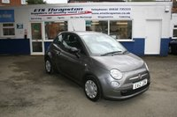 2012 FIAT 500 1.2 POP 3d 69 BHP £4795.00