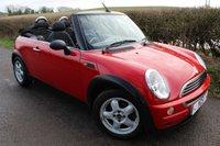 2005 MINI CONVERTIBLE 1.6 ONE 2d 89 BHP £1998.00