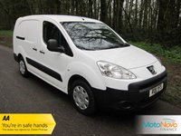 USED 2011 11 PEUGEOT PARTNER 1.6 HDI CRC 1d 90 BHP CREW VAN, 5 SEATS, 1 OWNER. Fantastic Value One Owner Five Seat Peugeot Partner Crew Van in Fantastic Condition with Peugeot Service History.