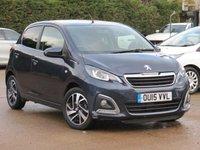 2015 PEUGEOT 108 1.2 ALLURE 5d 82 BHP £6495.00
