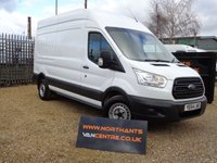 2014 FORD TRANSIT VAN 2.2 350 LWB HIGH ROOF  P/V 5d 125 BHP £11690.00