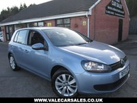 2011 VOLKSWAGEN GOLF 1.6 TDI MATCH 5dr £6990.00