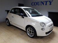 USED 2012 62 FIAT 500 1.2 POP 3d 69 BHP * TWO OWNERS * 12 MONTHS MOT *