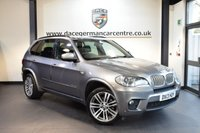USED 2013 13 BMW X5 3.0 XDRIVE40D M SPORT 5DR AUTO 302 BHP + FULL BLACK LEATHER INTERIOR + FULL SERVICE HISTORY + SATELLITE NAVIGATION + BLUETOOTH + HEATED SPORT SEATS + DAB RADIO + XENON LIGHTS + CRUISE CONTROL + AUTO AIR CONDITIONING + PARKING SENSORS + 20 INCH ALLOY WHEELS +