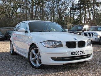 2008 BMW 1 SERIES 1.6 116I 3d 121 BHP £3950.00