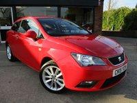 2015 SEAT IBIZA 1.4 TOCA 3d 85 BHP £6750.00